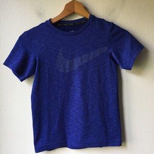 Nike Boy's Dri-Fit T-Shirt in Blue